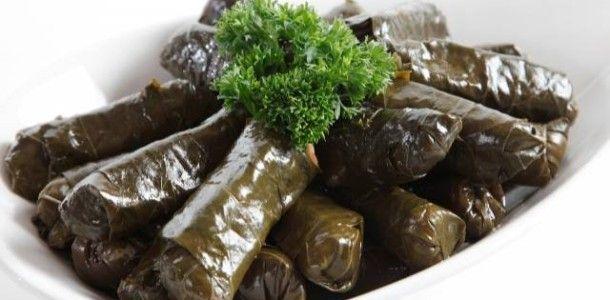 Gevulde wijnbladeren( Zeytin Yagli Yaprak Sarmasi )