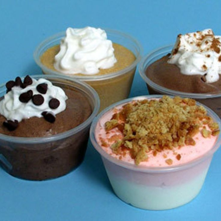 Adult Pudding Shots - the most delicious adult desserts ever!