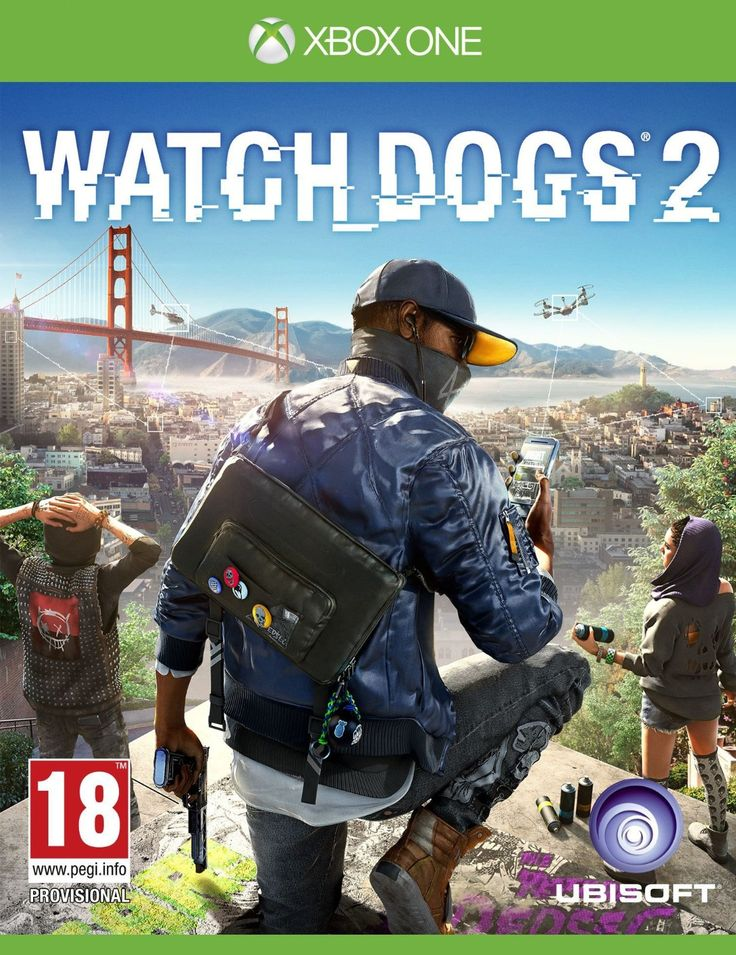 Watch Dogs 2  Xbox One #WatchDogs2 #PC #PS4 #XboxOne #Ubisoft #shooter #Hacker #Dedsec #MarcusHolloway
