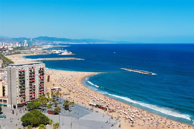 Barcelone - Barceloneta (Espagne)