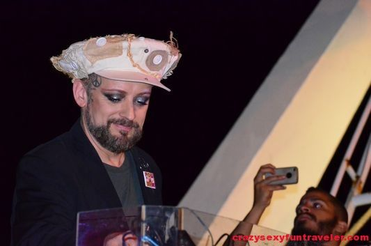 """Boy George - """"Fun with Taboo from Black Eyed Peas at Molo Street Parade Rimini"""" by @crazysexyfuntraveler"""