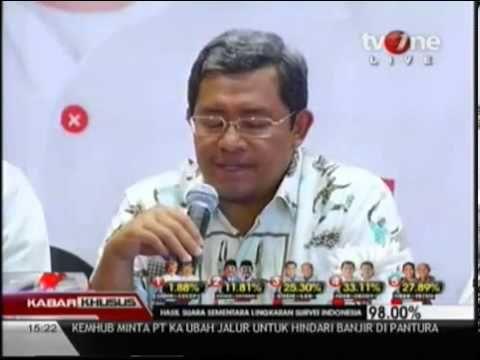 Hitung cepat (quick count) beberapa lembaga survei, calon gubernur dan wakil gubernur Jawa Barat nomor 4, Ahmad Heryawan-Deddy Mizwar, berada di posisi pemuncak di Pilkada Jawa Barat.