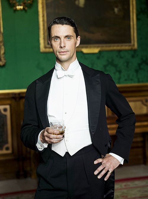 Matthew Goode as Henry Talbot —  Downton Abbey