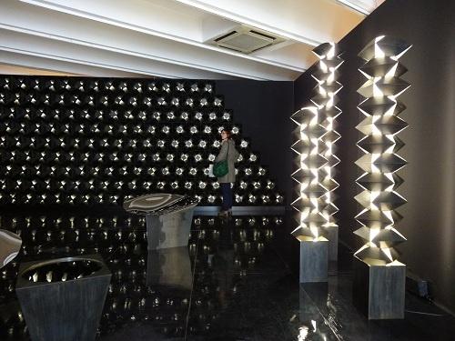 2012年 ミラノ・サローネ コルソコモのギャラリー ジョージ ジェンセンの展示