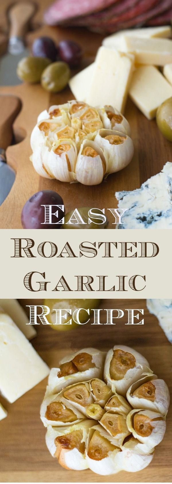Roasted garlic adds a gourmet touch to sandwiches, charcuterie boards, dips, spreads and more. And making it yourself is so easy! Just two ingredients and 5 minutes of prep creates an appetizer that any garlic-lover will adore.