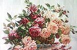 Мобильный LiveInternet Роза - королева цветов ...14схем для вышивки крестом   MerlettKA - © MerlettKA® ™  