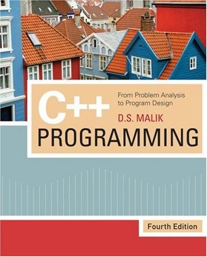 Bestseller Books Online C++ Programming: From Problem Analysis to Program Design$124.99  -
