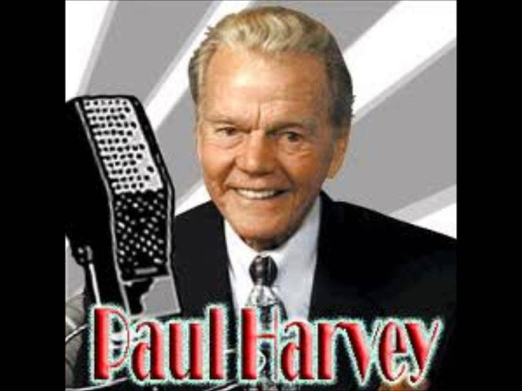 Paul Harvey - A Letter From God.