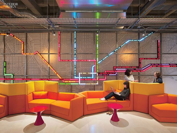 Making Connections: Gensler Delivers Open Office for Motorola   Projects   Interior Design