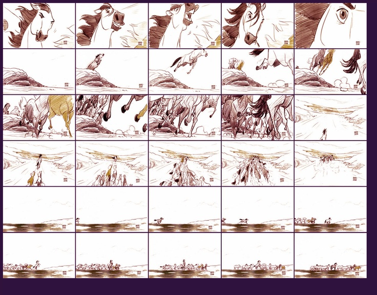 storyboard example for animation