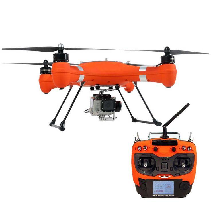 Nuovo Drone per Ricerca e Soccorso Completamente Impermeabile con struttura galleggiante in grado di atterrare e decollare dall'acqua. Visit our Site: https://www.areagoods.com
