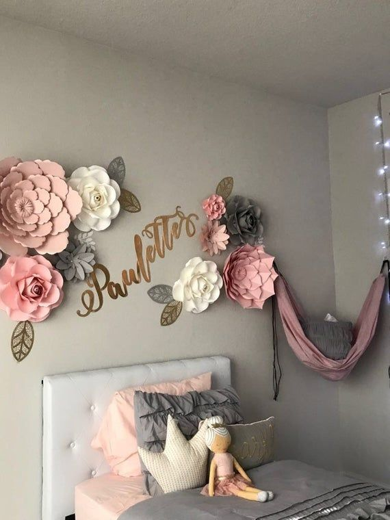 16+ Bedroom flower wall decor information