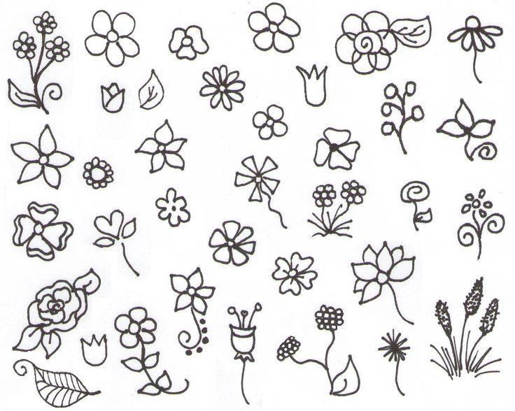 Simple Doodle Ideas | My Inspiration — Flower Doodles! |