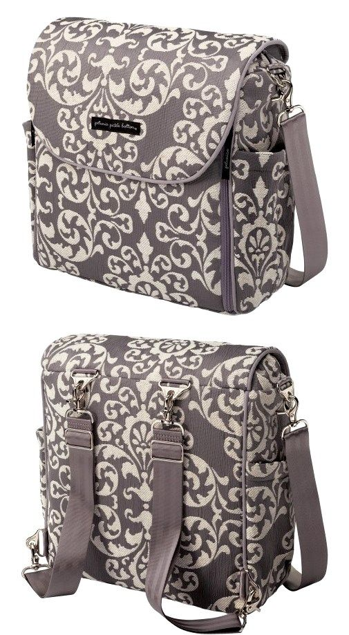 Petunia Pickle Bottom Earl Grey Boxy Backpack: This is the best diaper bag I have ever had! They thought of everything when they made this bag.
