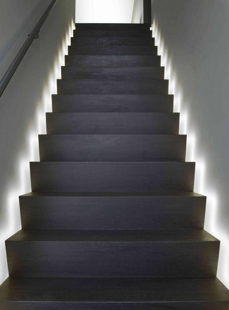Indirect Lighting These Stairs Demonstrate A Unique Way To Utilize Indirect  Lighting To Help You. Indirect LightingStair LightingLighting IdeasInterior  ...