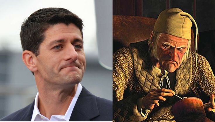 Can you tell the difference between Paul Ryan and Ebenezer Scrooge? There's something familiar about the way the GOP talks about the poor.