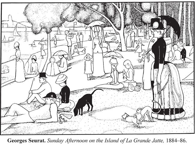 Seurat, Sunday Afternoon on the Island of La