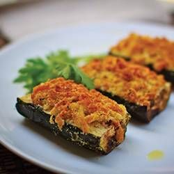 Courgette gratin (zucchini) in Philips AirFryer.