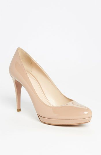Prada Round Toe Platform Pump available at #Nordstrom