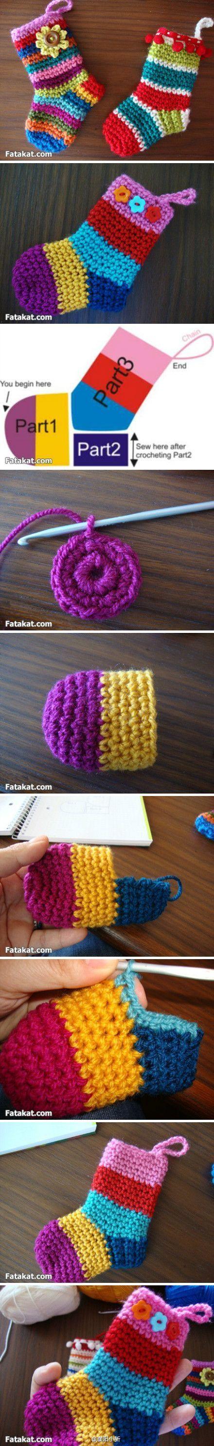 Calcetines crocheteros