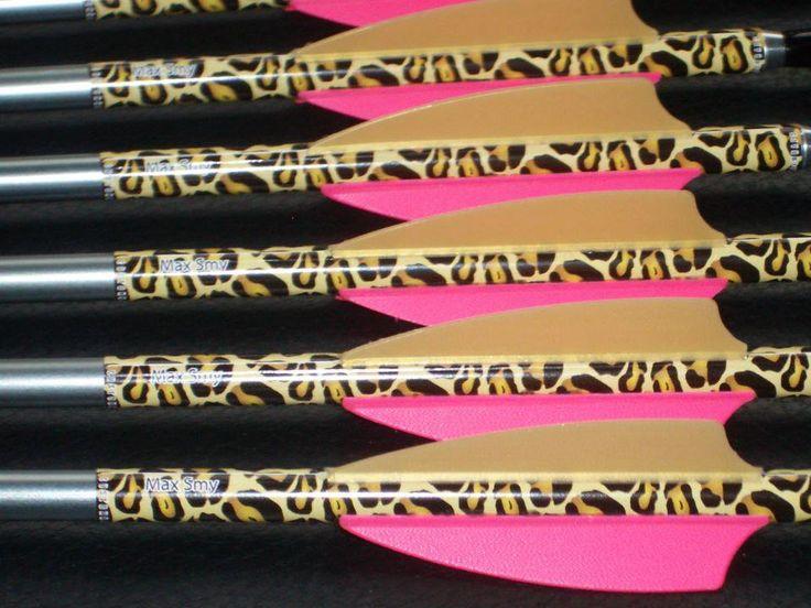 Beautiful leopard print arrows by Arrow Sox
