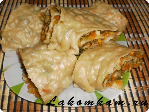 Блюдо из овощей Ханум