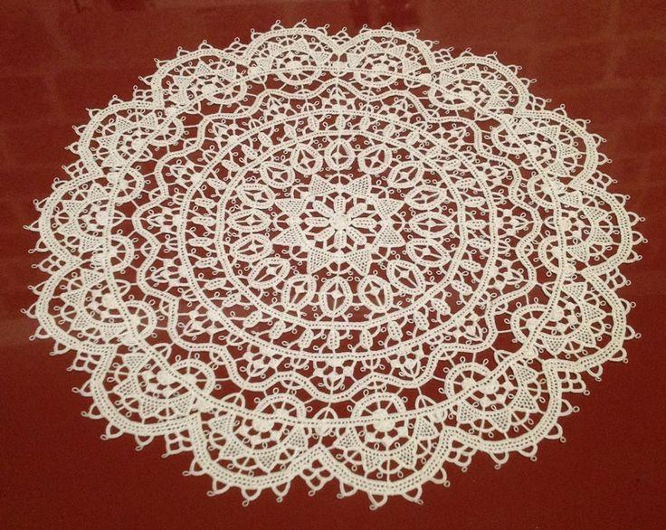 Croatia Knitting Patterns : 26 best images about Pag needlelace - koronka chorwacka igieLkowa on Pinteres...