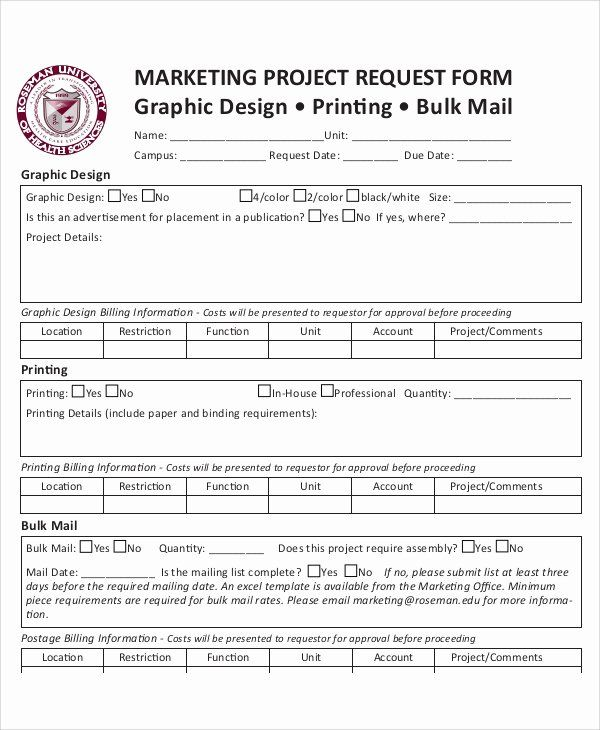 4 Service Request Form Templates Word