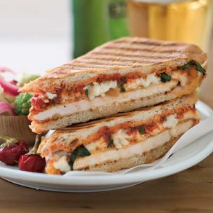 Chicken Parmesan Panini from Williams-Sonoma website