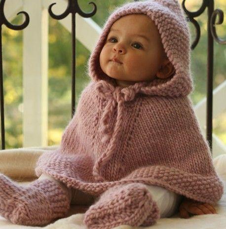 Poncho en laine 18 mois                                                                                                                                                                                 Plus