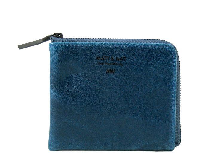 Bane #Vegan #Wallet in Blue by #Matt   Grape Cat $35