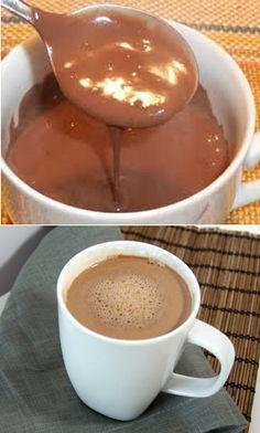 Cioccolata Calda Dukan (dukan hot chocolate use google translate)