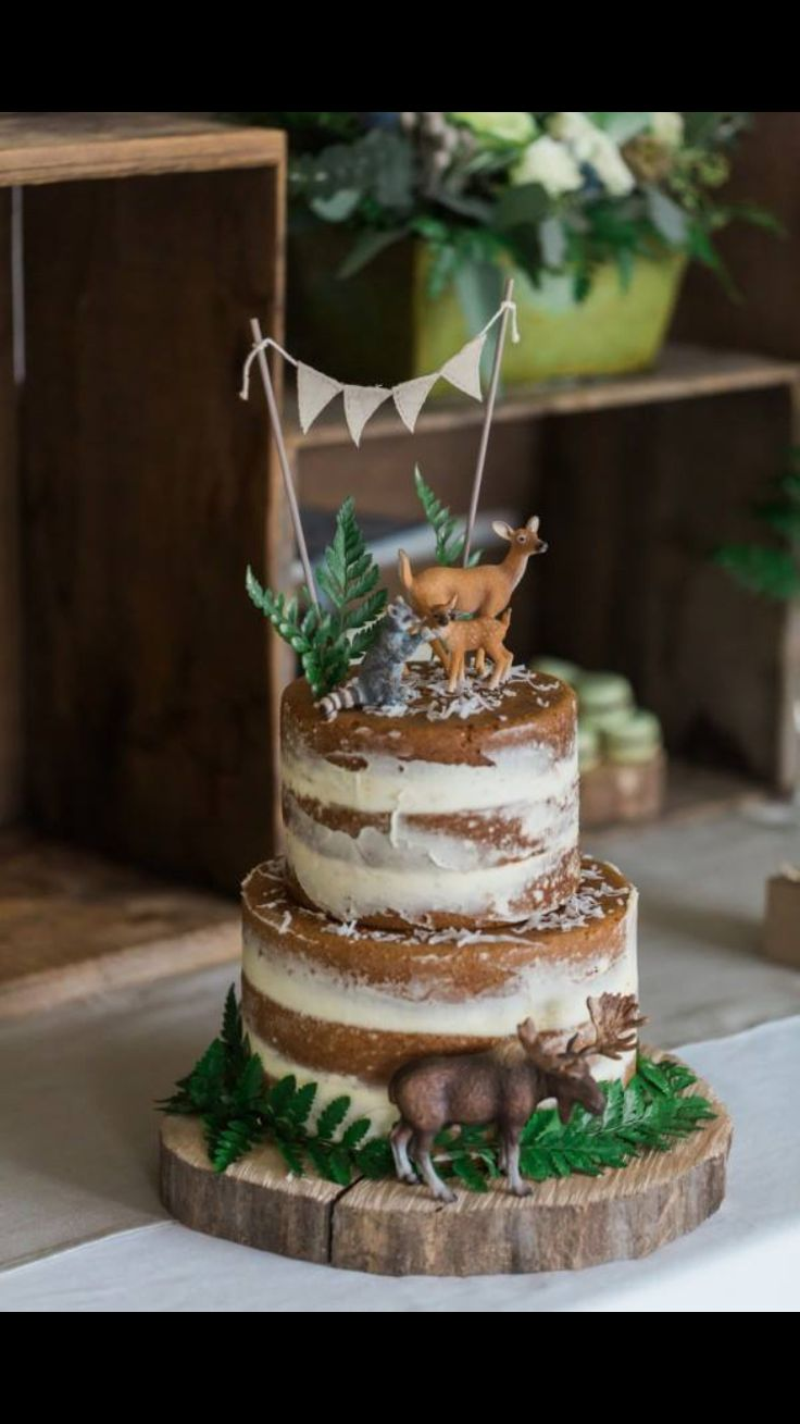 http://www.thesweetestoccasion.com/2016/02/a-whimsical-woodland-baby-shower/ (moose cake baking)