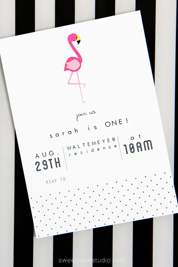 The 25 best First birthday invitations ideas on Pinterest Girl