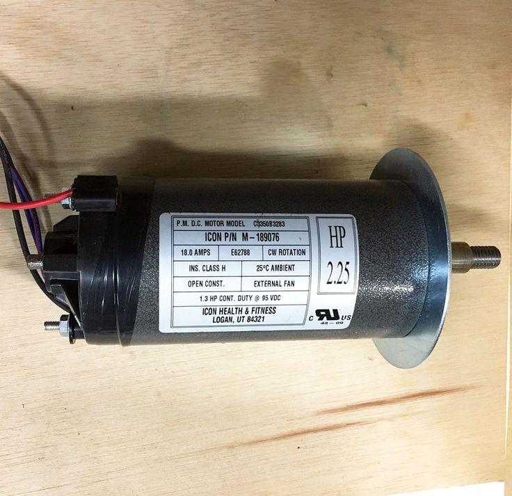 ICON 2.25hp 95V DC 18A CW/CCW Rotation Cont Duty Motor - Lathe Generator DIY CNC #Icon