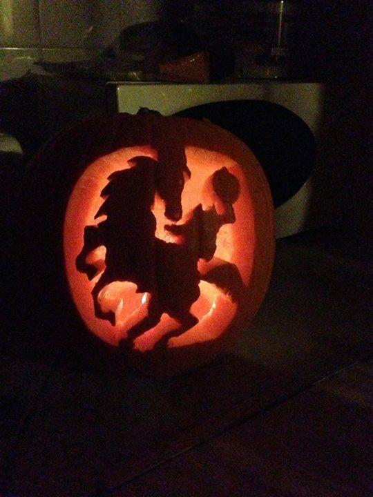 Best horse pumpkin carvings images on pinterest
