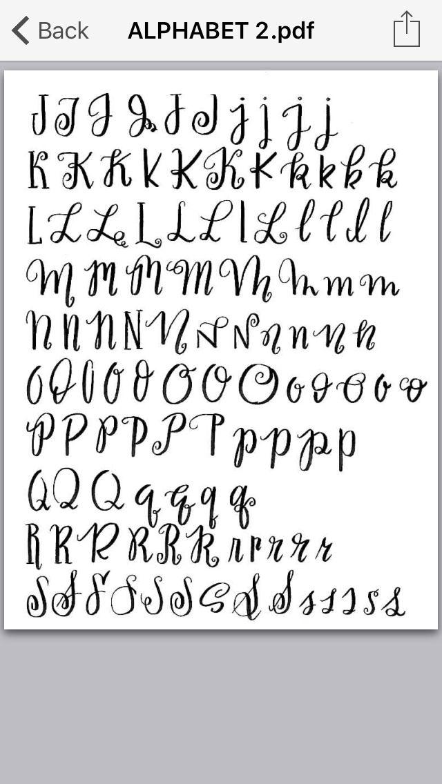 Brush lettering 2