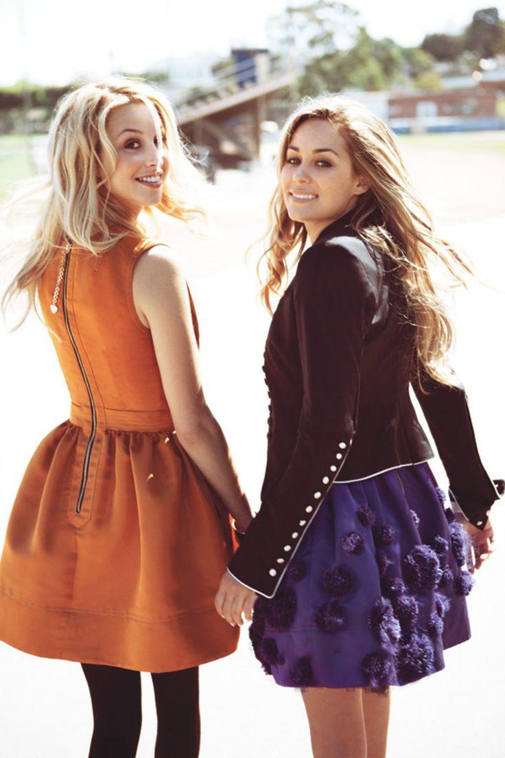 : Full Skirts, California Girls, Teen Vogue, Orange Dresses, Whitneyport, Laurenconrad, The Dresses, Whitney Port, Lauren Conrad