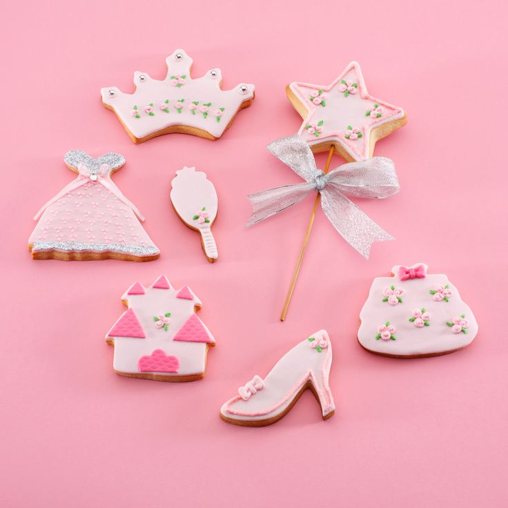 "Pack ""Princesitas"" Galletas decoradas"