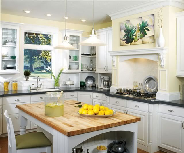 17 Best Images About Yellow And White Kitchen Love On