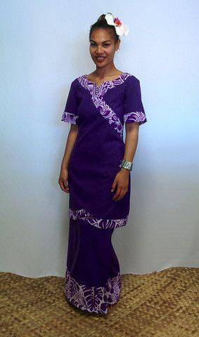 Kimono Inspired Puletasi