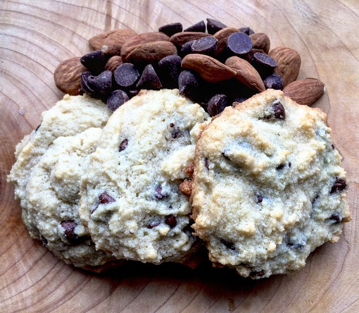 Almond Flour Chocolate Chip Cookies! Almond flour, what are the benefits? Super high source of Vitamin E, did you know?