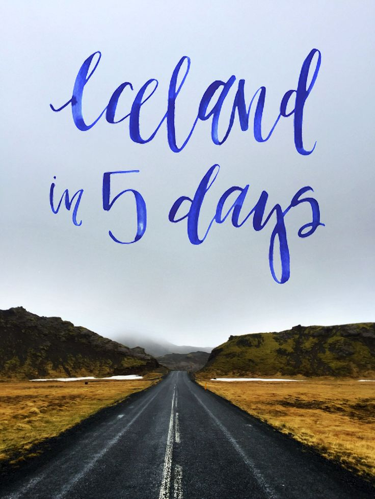 Iceland in 5 Days