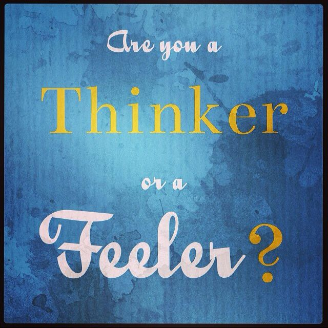 Discover your MBTI type on my website. This week we are looking at the thinking and feeling preference.
