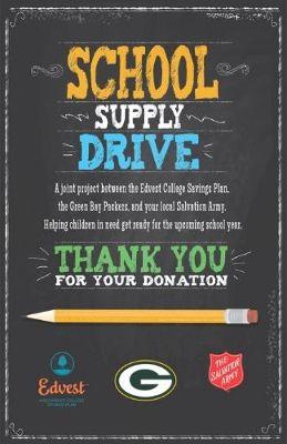 school supply drive - Google Search                                                                                                                                                      More