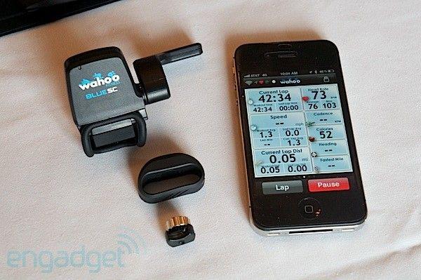 Wahoo Fitness BlueSC sensor for iPhone