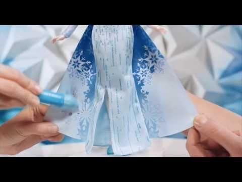 Disney Frozen Μαγική Κάπα Color Change Fashion Doll  #B6699 | www.toys-s...