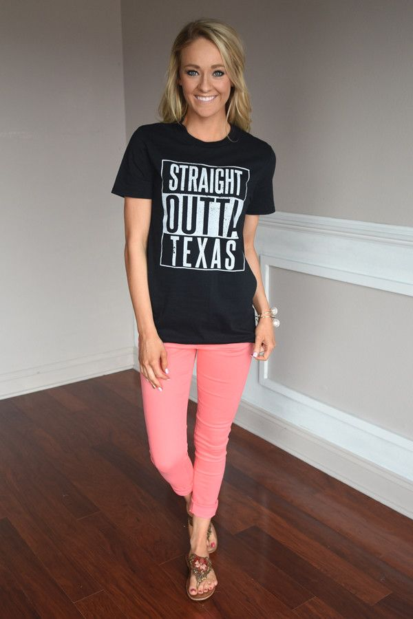 Straight Outta Texas Tee – The Pulse Boutique