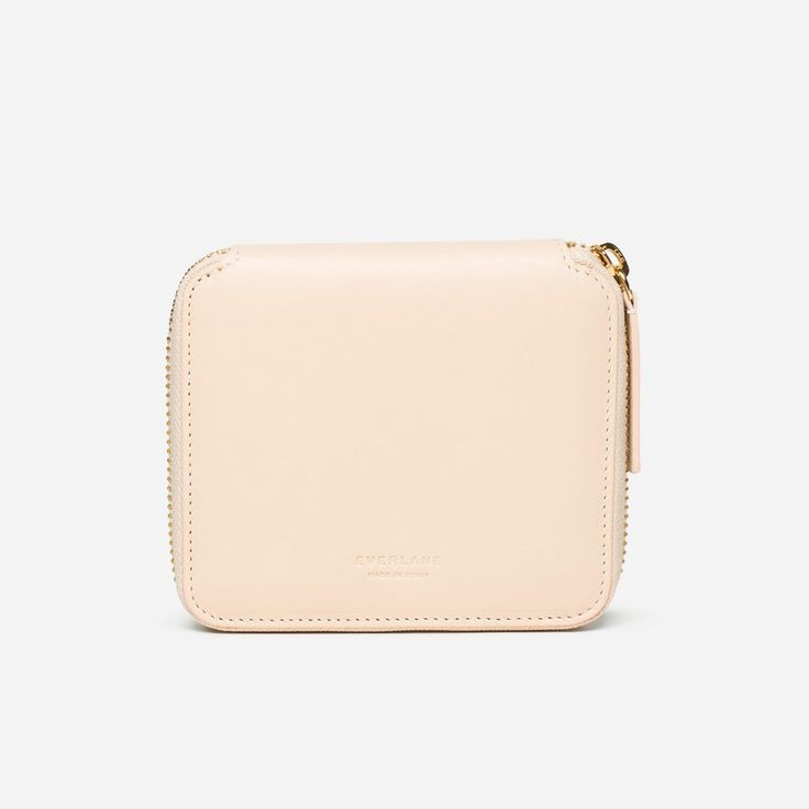 The Square Zip Wallet - Everlane
