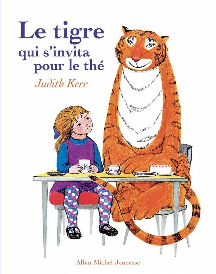 « Le Tigre qui s'invita pour le thé » de Judith Kerr (Albin Michel Jeunesse)
